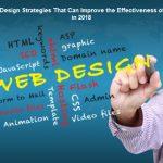 6 Website Design Tips To Improve the Effectiveness of Website in 2018